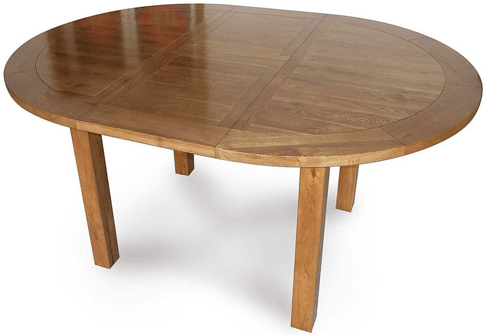Willis and Gambier Originals Bretagne Dining Table - 116cm-156cm Round Extending
