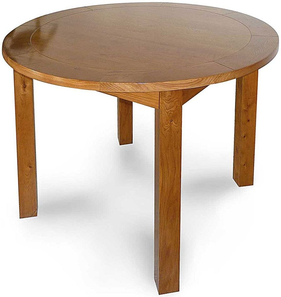 Willis and Gambier Originals Bretagne Round Fixed Top Dining Table