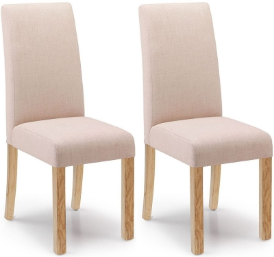 Willis and Gambier Originals Harlequin Camel Dining Chair with Light Leg (Pair)