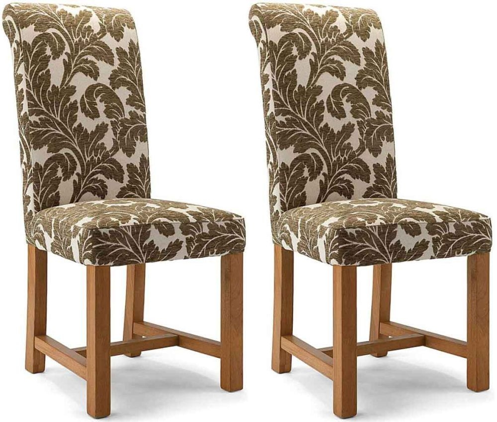 Willis and Gambier Originals Chicago Kensington Floral Sage Dining Chair (Pair)