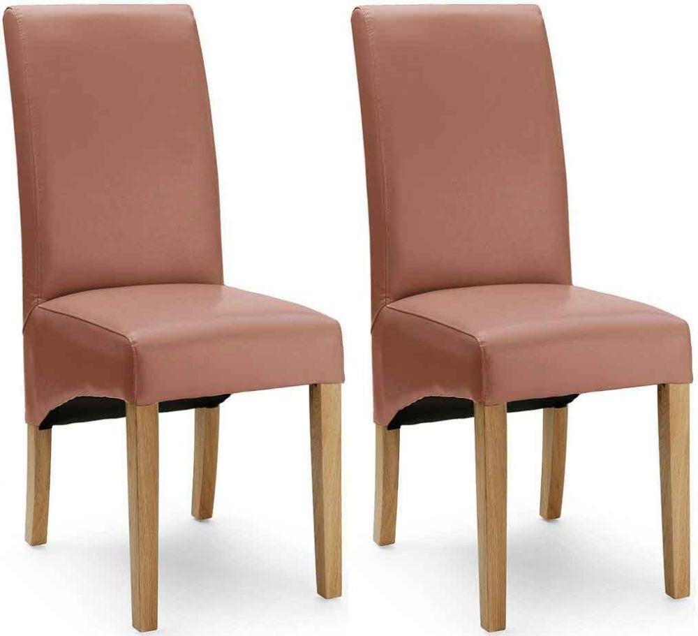 Willis and Gambier Originals Chicago Latte Recast Dining Chair (Pair)