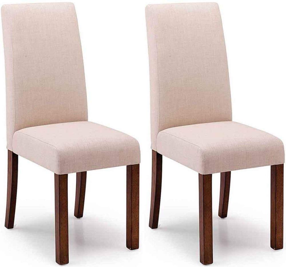 Willis and Gambier Originals Harlequin Camel Dining Chair with Dark Leg (Pair)
