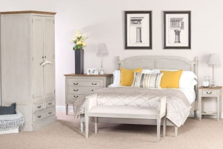 Willis and Gambier Originals Florence Painted Bedroom Set