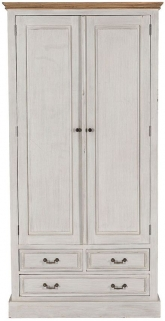 Willis and Gambier Originals Florence Painted Wardrobe - Double