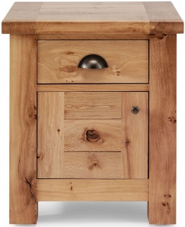 Willis and Gambier Originals Normandy Oak Bedside Cabinet