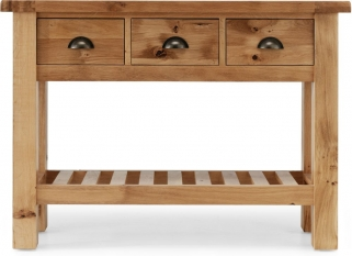 Willis and Gambier Originals Normandy Oak Console Table