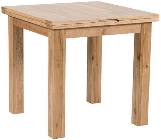 Willis and Gambier Originals Normandy Oak Dining Table - 80cm Flip Top