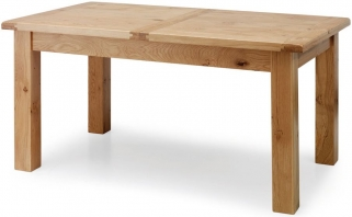 Willis and Gambier Originals Normandy Oak Dining Table - 80cm x 150cm Fixed Top