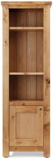 Willis and Gambier Originals Normandy Oak Narrow Display Unit