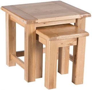 Willis and Gambier Originals Normandy Oak Nest of Tables