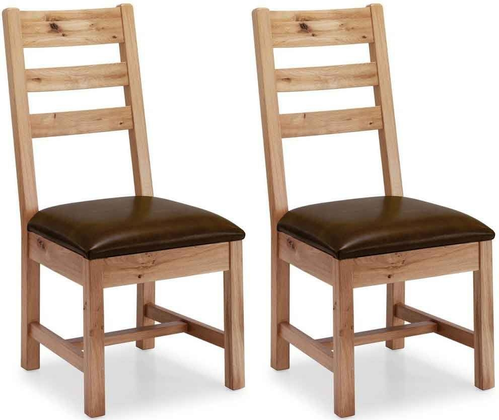 Willis and Gambier Originals Normandy Oak Dining Chair (Pair)