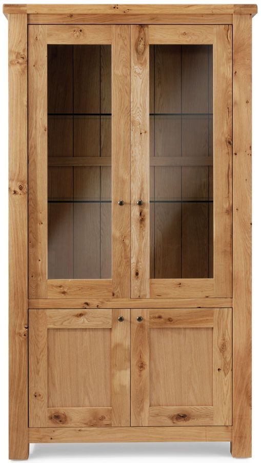 Willis and Gambier Originals Normandy Oak Glazed Display Cabinet