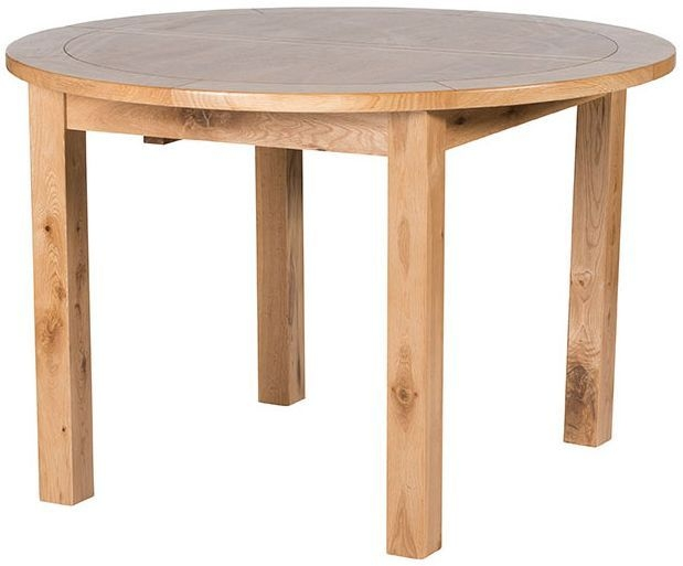 Willis and Gambier Originals Normandy Oak Round Extending Dining Table