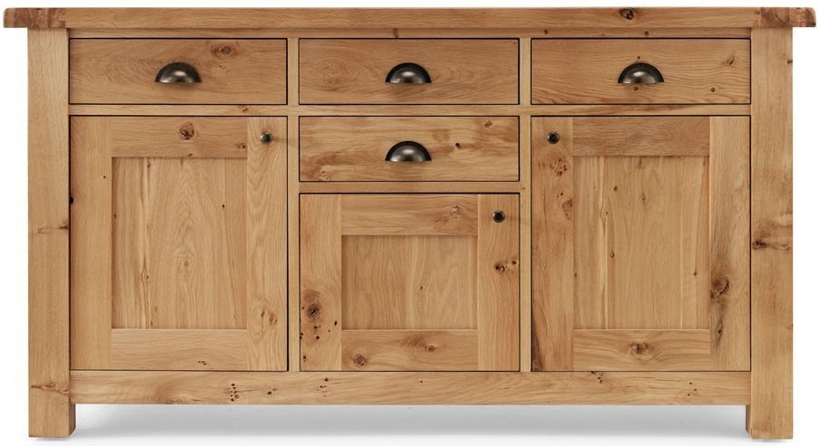 Willis and Gambier Originals Normandy Oak 3 Door Wide Sideboard