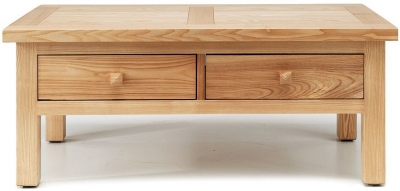 Willis and Gambier Originals Portland Coffee Table - 2 Drawer