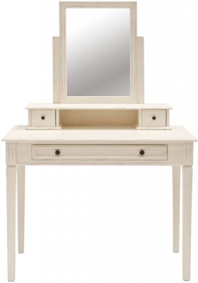 Willis and Gambier Originals Siena Off White Dressing Table and Mirror