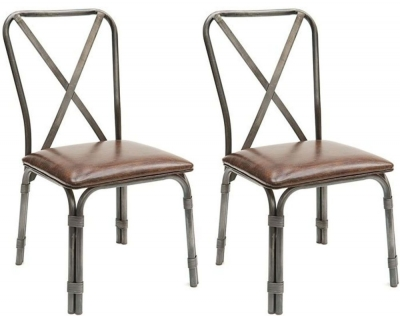 Willis and Gambier Revival Chigwell X Back Chair (Pair)