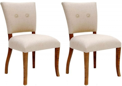 Willis and Gambier Revival Croxley Fabric Chair (Pair)