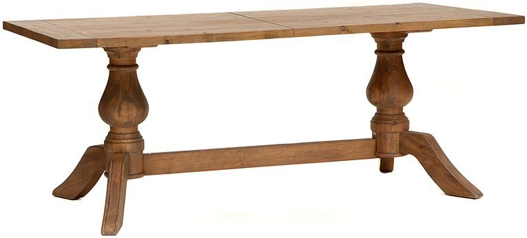 Willis and Gambier Revival Pimlico Fixed Top Dining Table - 200cm Rectangular