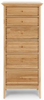 Willis and Gambier Spirit Oak 6 Drawer Chest