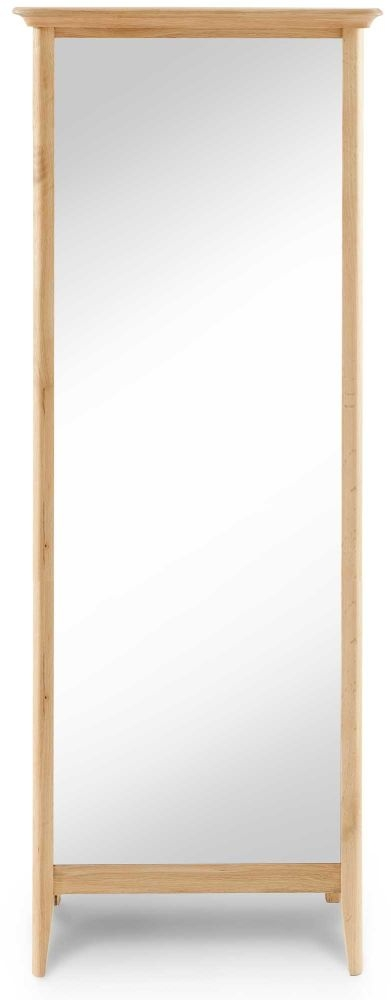 Willis and Gambier Spirit Oak Cheval Mirror