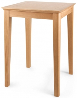 Willis and Gambier Spirit Oak Bar Table