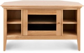 Willis and Gambier Spirit Oak Corner TV Unit