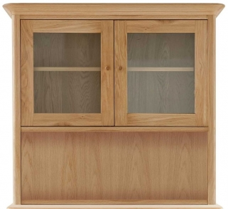 Willis and Gambier Spirit Oak Small Glazed Top