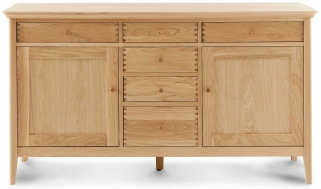 Willis And Gambier Spirit Oak 4 6 Seater Dining Table Willis And Gambier