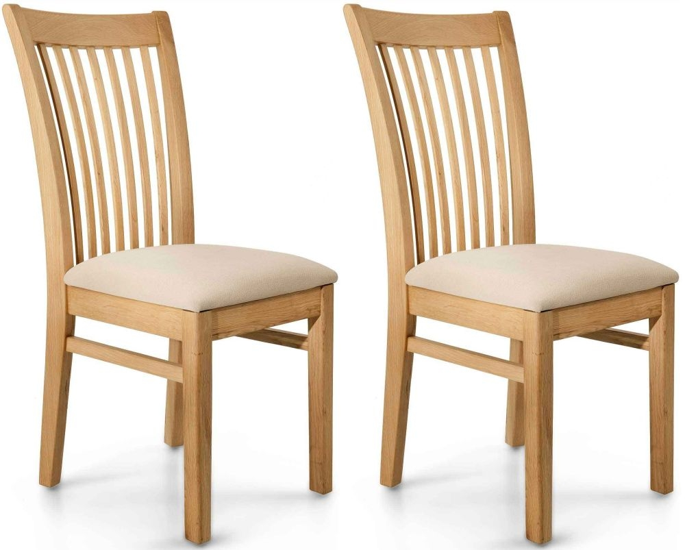 Willis and Gambier Spirit Oak Dining Chair (Pair)