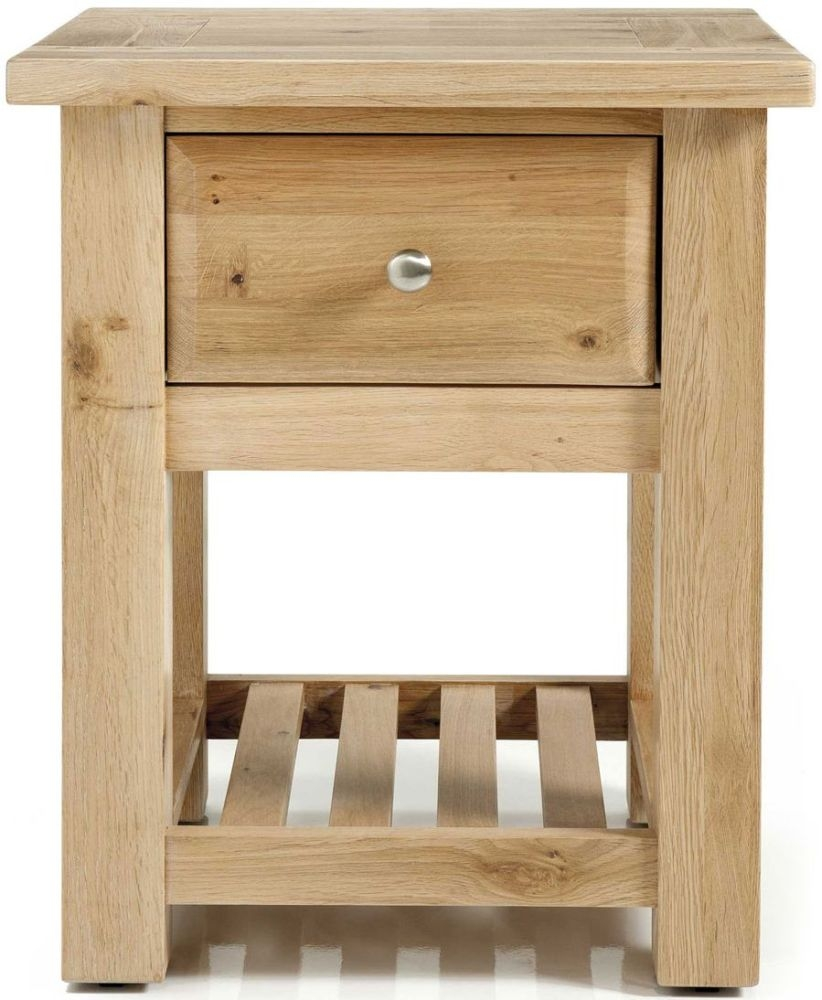 Willis and Gambier Tuscany Hills Oak Bedside Cabinet - 1 Drawer