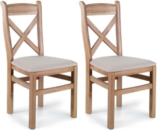 Willis and Gambier Tuscany Hills Fabric Dining Chair (Pair)