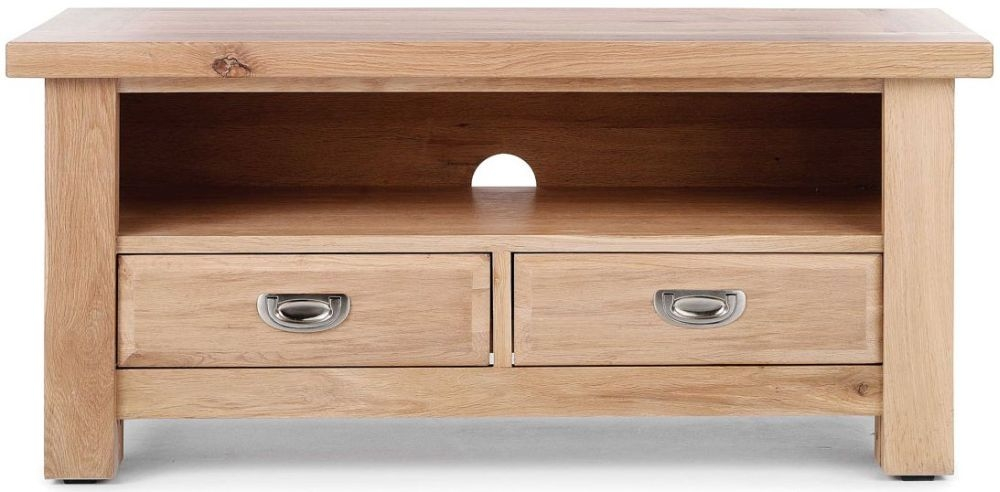 Willis and Gambier Tuscany Hills Oak 2 Drawer TV Cabinet