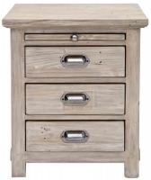 Willis and Gambier West Coast Pine Bedside Cabinet - 3 Drawer