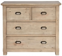 Willis and Gambier West Coast Pine Chest of Drawer - 2+2 Drawer