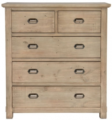 Willis and Gambier West Coast Pine Chest of Drawer - 2+3 Drawer