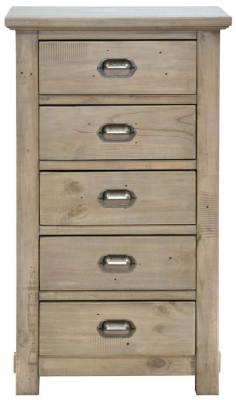 Willis and Gambier West Coast Pine Chest of Drawer - 5 Drawer Tall