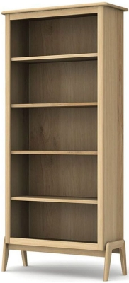 Willis and Gambier Willow Valley Oak Tall Bookcase