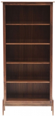 Willis and Gambier Willow Valley Walnut Tall Bookcase
