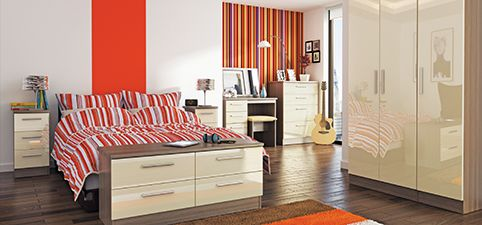High Gloss Bedroom