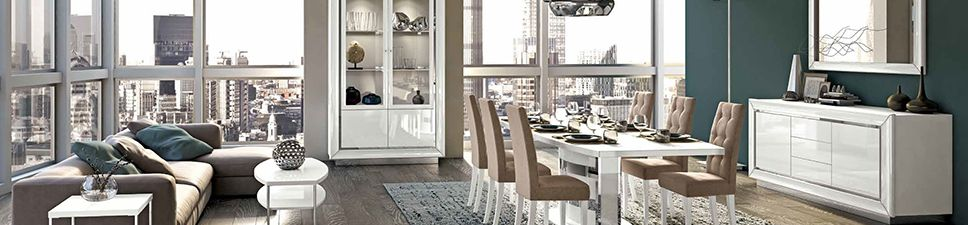 High Gloss Dining Room