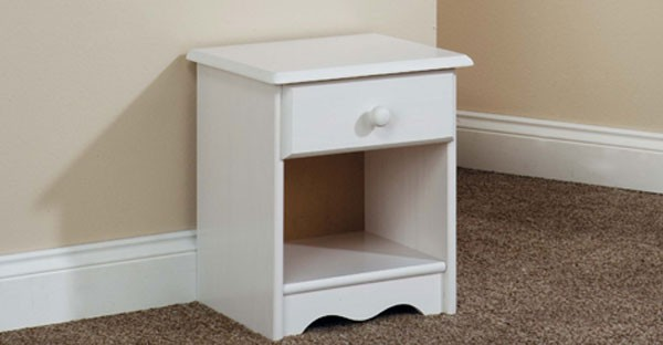 Painted Bedside Cabinet