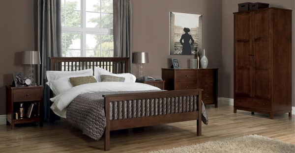 Dark Wood Bedroom Furniture Cfs Dark Wood Bedroom Range