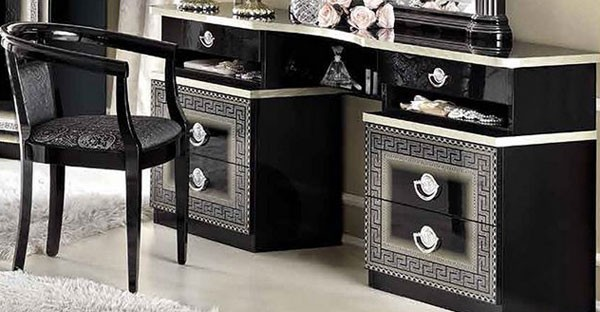Black Dressing Table
