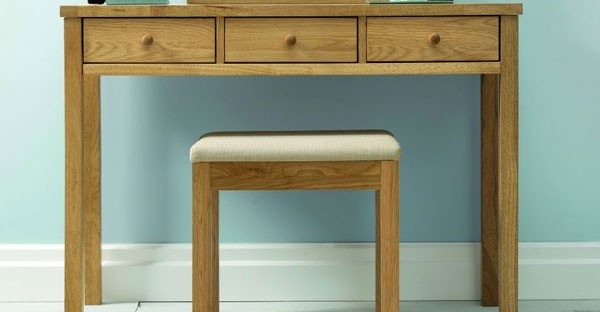 Oak Dressing Table