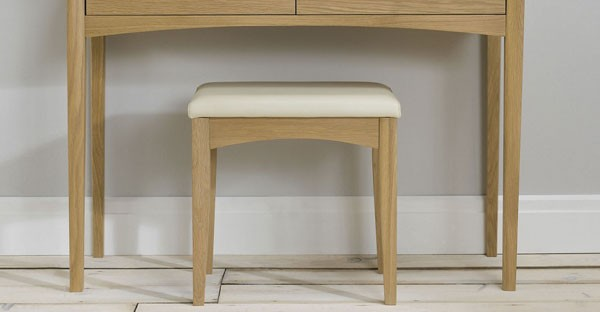 Oak Bedroom Stool