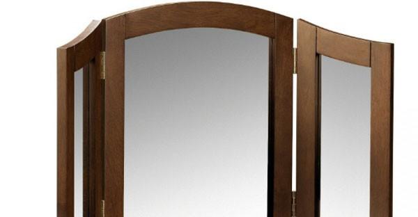 Dark Wood Bedroom Mirrors