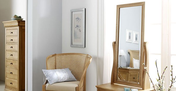 Oak Bedroom Mirrors