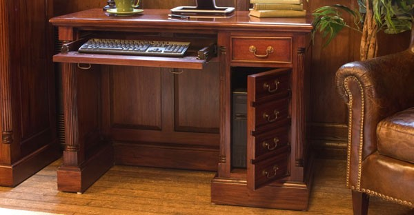 Dark Wood Desk