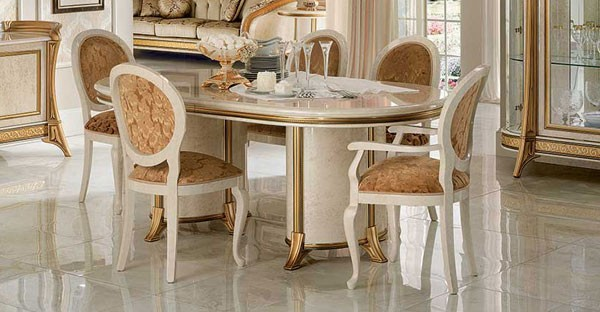 Italian Dining Room Furniture Set